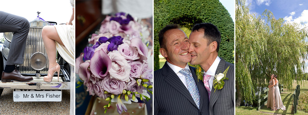 Weddings and civil partnership photography